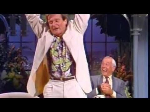 Robin Williams Hilarious FULL Interview on Johnny Carsons Tonight Show - 1991