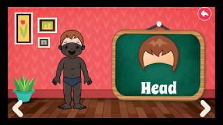 Preschool learning | learn body parts | education games for children