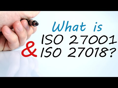 What is ISO 27001 & ISO 27018?
