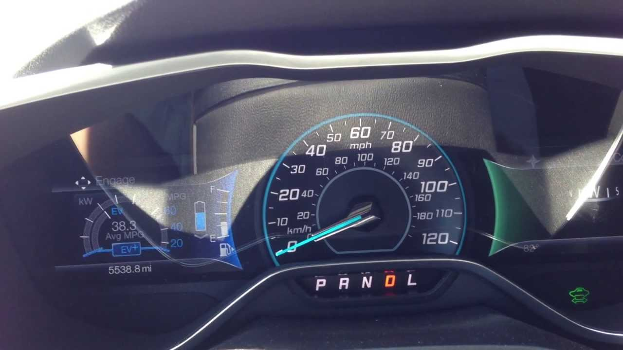 Ford C Max 0 60 Mph