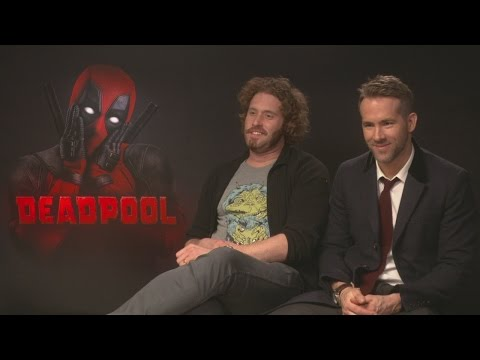 Ryan Reynolds and T.J. Miller discuss Wolverine's balls and Deadpool's presidency policies