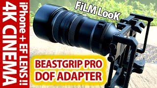 4Kシネマ感が絶大!ビーストグリップDOFアダプター動画作例!使用レンズはEF50mm F1.4 USM、EF135mm F2L USM、EF20mm F2.8 USM thumbnail