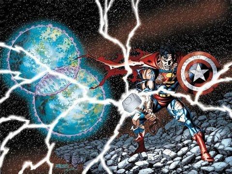 Глобальный Кроссовер Marvel и DC - JLA / Avengers