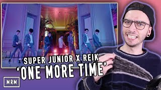 """Today I react to the song """"One More Time"""" by SUPER JUNIOR and REIK!..."""