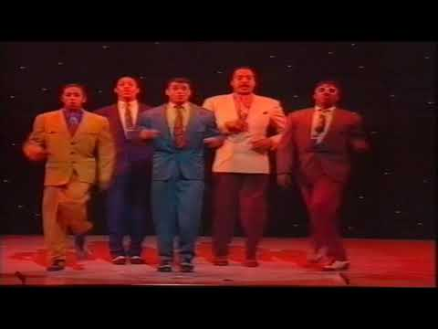 5 Guys Named Moe.  (Royal Variety Performance) Victoria Palace Theatre 1991 HD