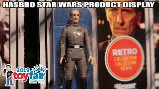Hasbro Star Wars Product Display at New York Toy Fair 2019