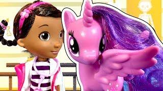 История Куклы Барби! Как Куклы спасают Май Литл Пони? Кого все боятся?