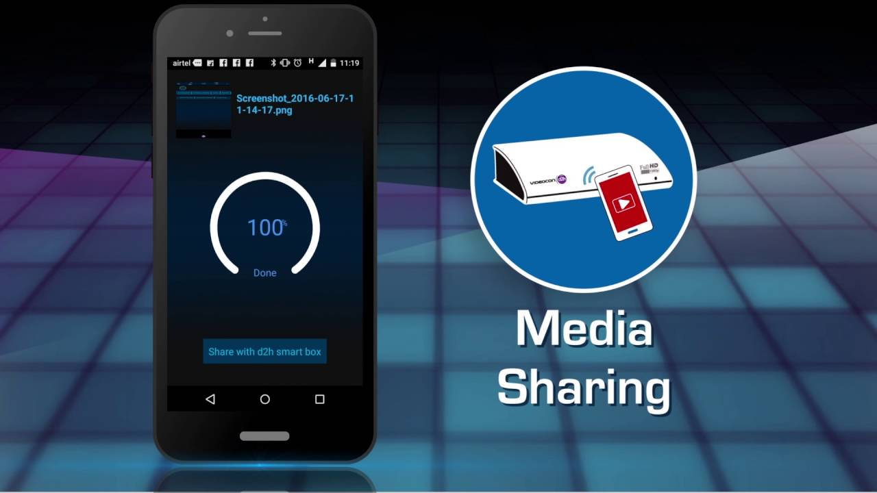 d2h smart remote app to make your smart phone your tv remote youtube