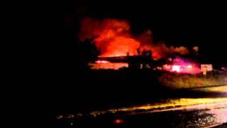 M&p Building Fire.