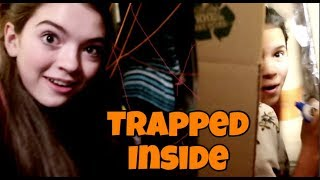 SCAVENGER HUNT IN BOX FORT MAZE! TRAPPED INSIDE W/ That YouTub3 Family