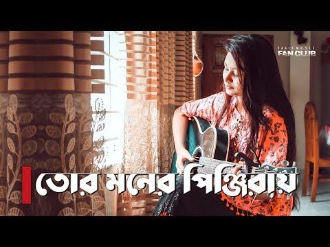 Tor Moner Pinjiray | Female Cover By Dristy Anam | Jisan Khan Shuvo | New Song 2018