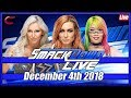 WWE SmackDown Live Stream Full Show December 4th 2018: Live Reaction Conman167