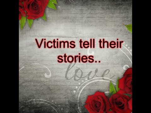 Victims Tell Their Stories November 2018