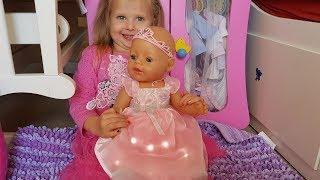 Кукла беби борн Катя ПЛАТЬЕ ФЕИ ДЛЯ БЕБИ БОН КАК МАМА doll Baby Born Fairy