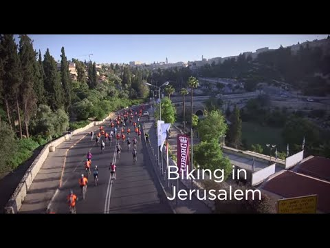Jerusalem Biking festival combines Sports & Fun