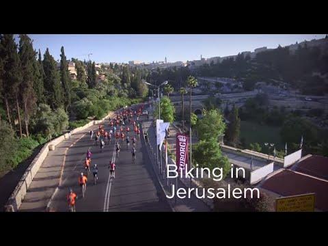 Jerusalem Biking Festival Combines Sports \u0026 Fun