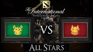 Dota 2 The International 2015 All Stars Match Team N0tail vs Team Chuan