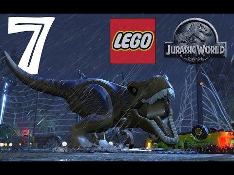 LEGO Jurassic World Walkthrough Gameplay HD - Jurassic Park Ending + Credits - Part 7