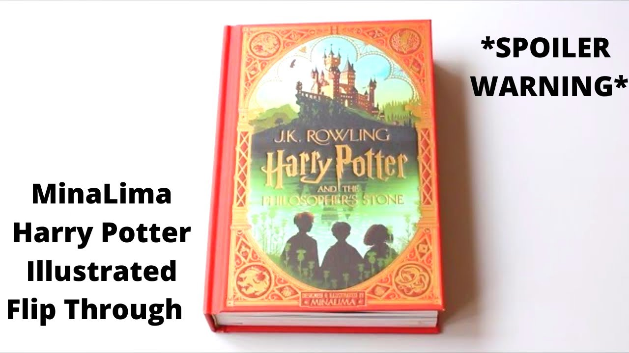 Download MinaLima Harry Potter and the Philosopher's Stone Edition Flip Through