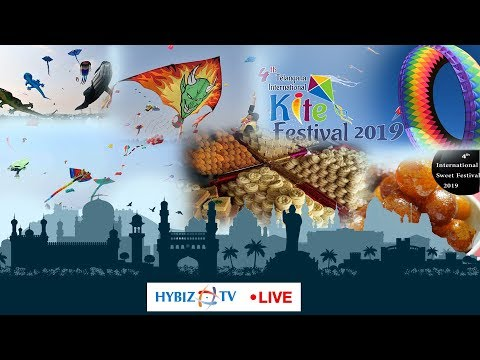 LIVE | International Kite & Sweet Festival | Parade Ground Secunderabad