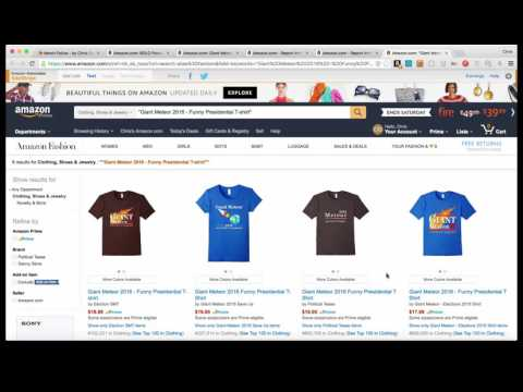 Merch Police Chrome Extension to report Merch By Amazon Infringement and copyright