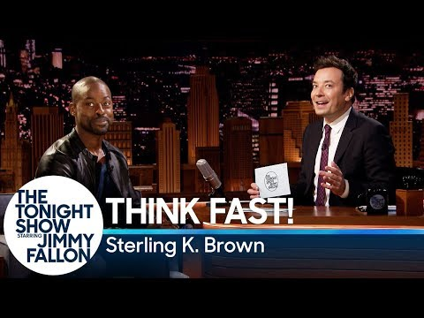 Think Fast! with Sterling K. Brown streaming vf
