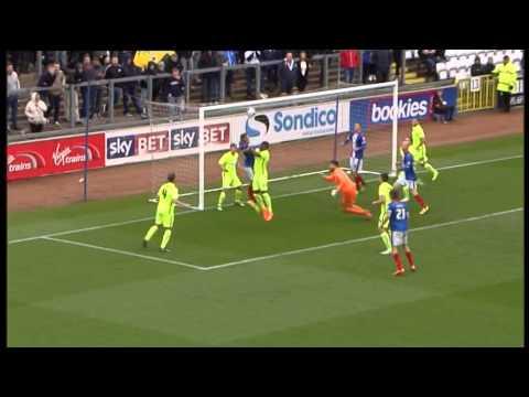 Match action - Carlisle United 3 - 3 Hartlepool United
