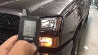 Clifford remote start alarm 5305x 2007-2013 Chevy Silverado. 1/4 mile pager