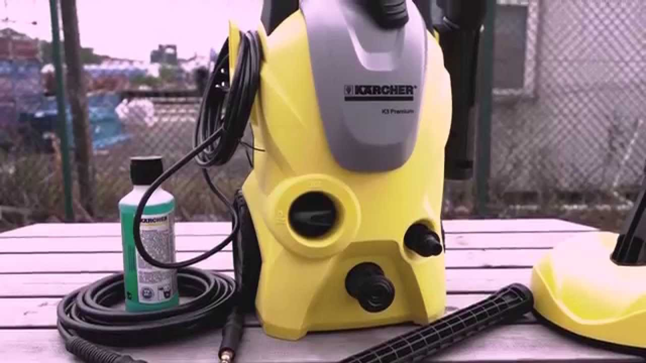 Karcher k3 premium pressure home kit from toolstop youtube - Karcher k3 home ...