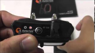Aetertek At-216 Dog Training Collar Operate