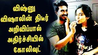 Vishnu Vishal Announces his divorce officially | Vishnu Vishal | Rajani - Filmy Focus - Tamil