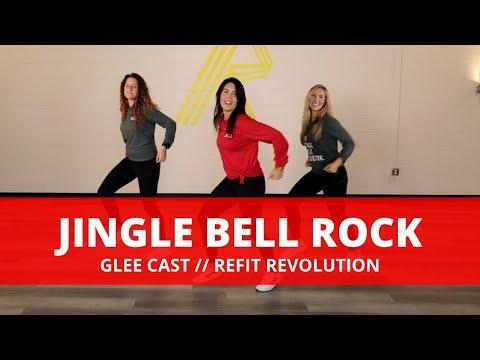 """Jingle Bell Rock""    Glee Cast    Dance Fitness Choreography    REFIT® Revolution"