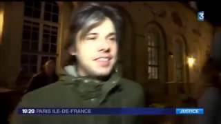 La réaction d'Orelsan après son procès - JT 19H France 3 16/12/2015
