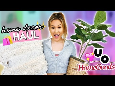 Home Goods & Urban Outfitters Home Decor Haul!