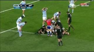 Argentina vs Nueva Zelanda - RWC 2011 - Segundo Tiempo