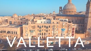 Valletta, a Capital de Malta e sua História