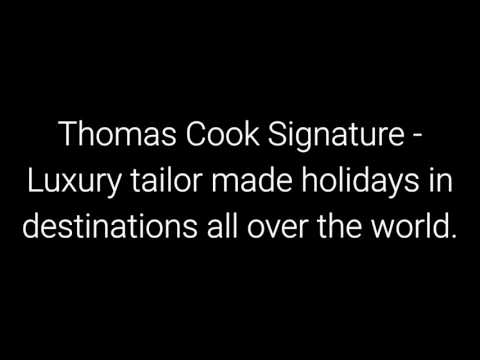 Thomas Cook holidays 2018