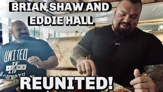 EDDIE HALL REUNITED WITH BRIAN SHAW