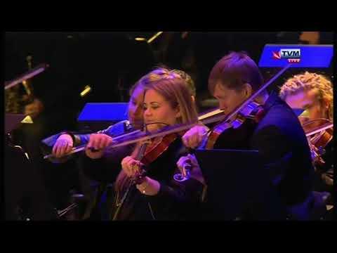 Tenishia & Malta Philharmonic Orchestra at the Valletta 2018 Opening