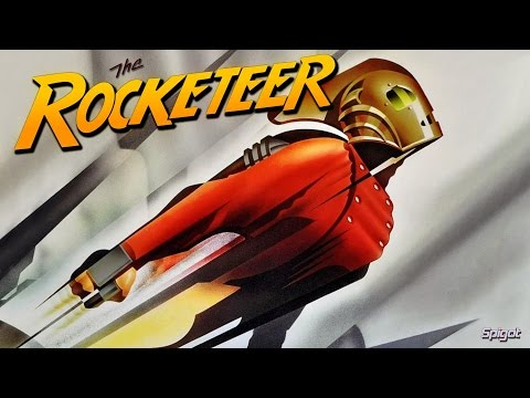 The Rocketeer Movie 1991 - Billy Campbell, Jennifer Connelly, Alan Arkin