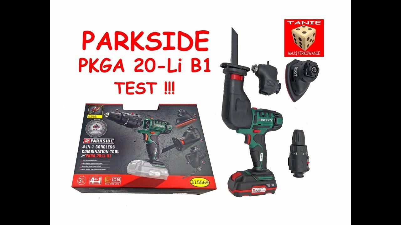 Parkside 4 In 1 Cordless Combination Tool Pkga 20 Li A1