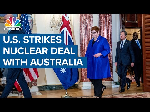 France angry after U.S. strikes deal with Australia for nuclear subs