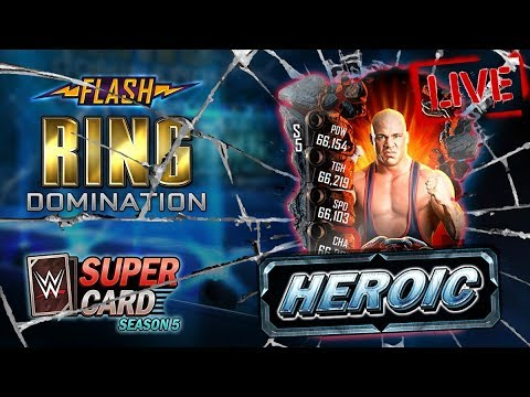 🔴LIVE - HEROIC Flash Event Stream! Spring Fusion! | WWE SuperCard S5