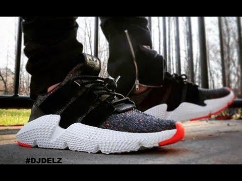 Adidas prophere scarpe ai piedi unboxing revisione su youtube