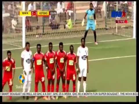 WAFA SC vrs  ASANTE KOTOKO 1-1   MATCH HIGHLIGHTS GHANA PREMIER LEAGUE