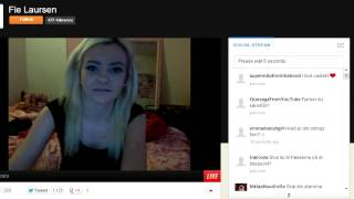 Repeat youtube video Fie Laursen fjerner fissehår