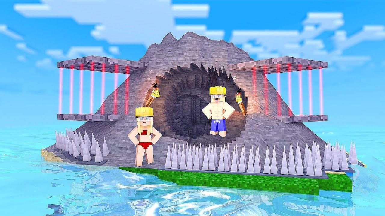 Höhle Auf Der Vergessenen Insel