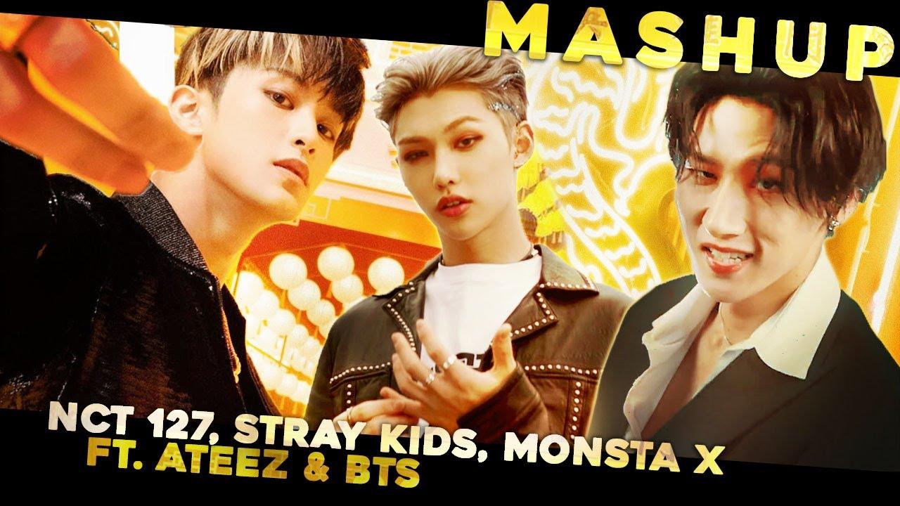 NCT 127, STRAY KIDS, MONSTA X — 'Kick It / God's Menu / Stand Together' (ft. ATEEZ, BTS)