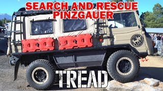 OVERLAND EXPO WEST 2017: AWESOME SAR 1972 PINZGAUER 710M