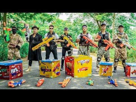 LTT Nerf War : Squad SEAL X Warriors Nerf Guns Fight Dr.Lee Crazy Gang Destruction Plan